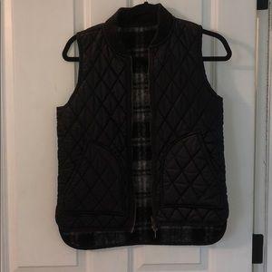 J crew reversible vest